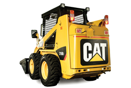 """All Cat machines are designed with safety as the central theme."""