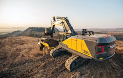 Volvo CE products have been the mainstay of the mining contractor.