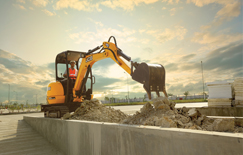 The JCB30 Plus offers various world class features  like unique boom offset.