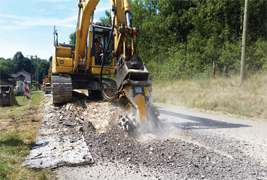 MB Crusher attachments bring savings while protecting the environment